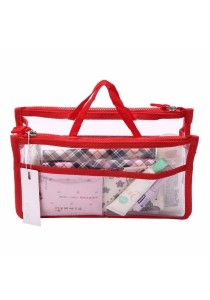 Invite.L Transparent Multifunction Storage Bag in Bag B6606