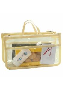 Invite.L Transparent Multifunction Storage Bag in Bag B6606 (White)