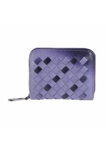 Gradients Plaited Weave Short Wallet Mini Change Purse B7105