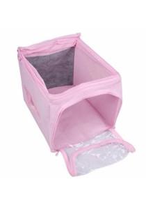 Bamboo Charcoal Clothes Organizer Storage Box 29L
