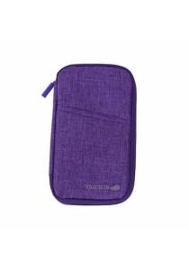 Multi Function Travel Passport Ticket Card Storage Bag B8303