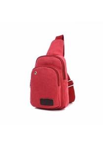 Casual Canvas Travel Backpack Messenger Shoulder Bag