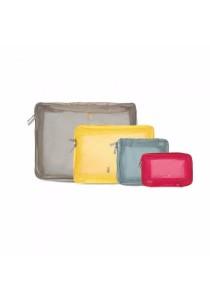 Set of 4 Travel Luggage Packing Set Organizer Storage Bag