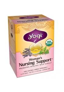 Yogi Nursing Support Breastfeeding Mothers Tea 16 Tea Bags