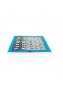 Y-pad English Learning Tablet Toys with LED Backlight Blue