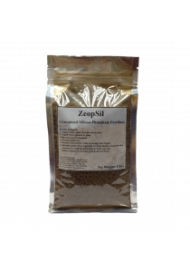 ZeopSil - Granulated Silicon Phosphate Mineral Fertilizer for Vegetables, Fruits & All ornamentals 1Kg (Brown Grey)