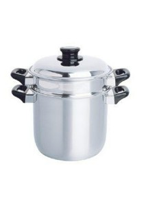 Zebra Double Boiler 20cm Stainless Steel Z173-220