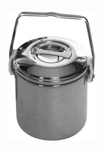 Zebra Stainless Steel Auto Lock Loop Handle Pot 14cm