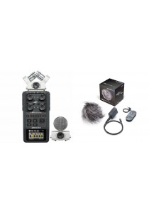 Zoom H6 Audio Recorder + Accessories Pack Zoom H6 Kit APH-6: Bundle Set 1