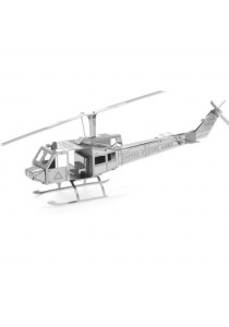 ZOYO 3D Metal Nano Puzzle Model Building Kits Toy - Huey Helicopter