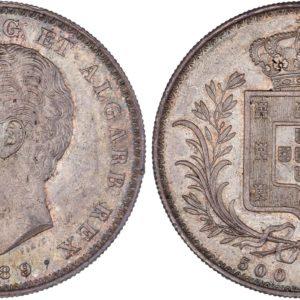 Portugal_1889_500Reis_AU58_2500X2500