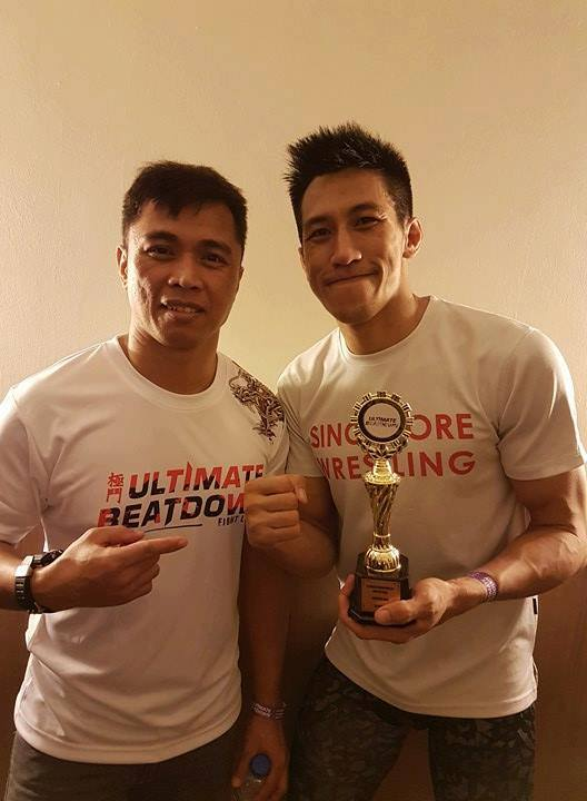 Don with coach paulo