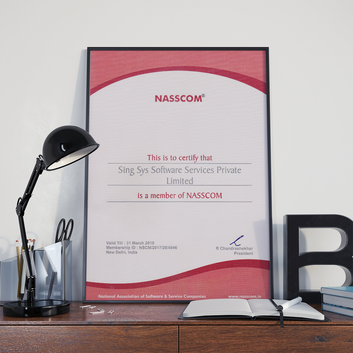 Singsys is proud to be an eminent member of NASSCOM