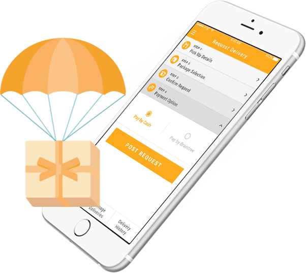 UPARCEL - YOUR EASIEST WAY TO DELIVER