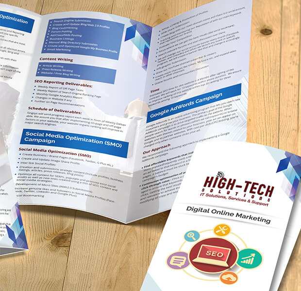 High Tech Solutions Brochure
