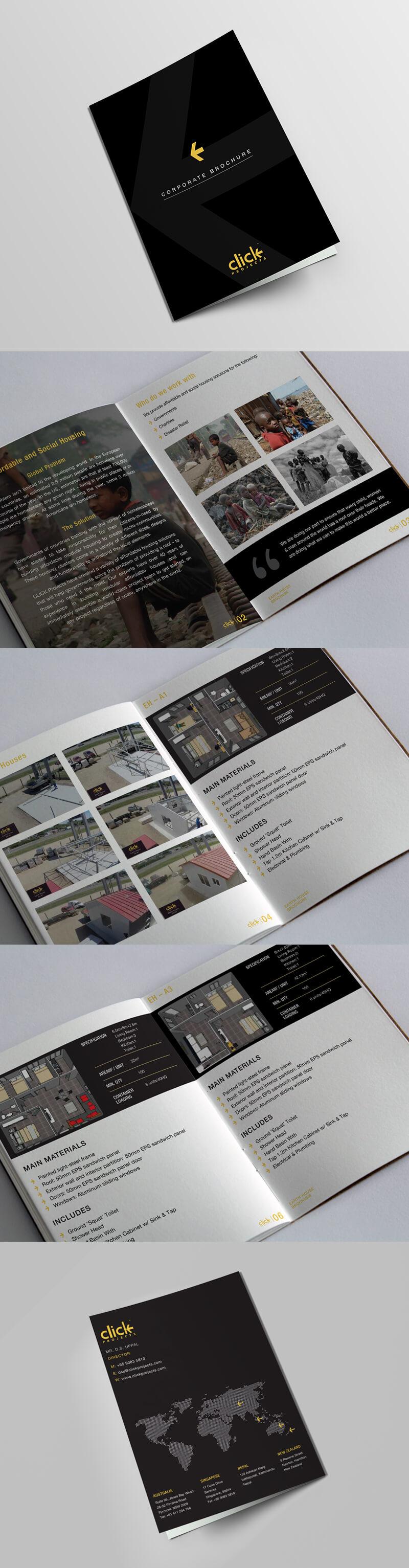 Click Project Corporate Brochure
