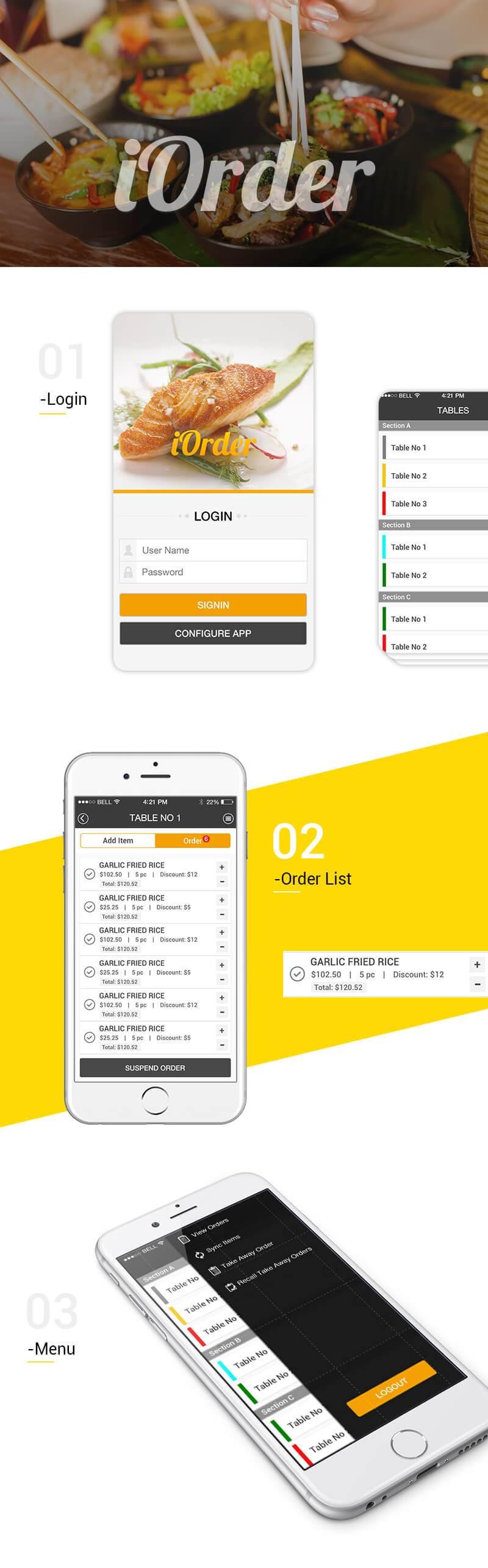 iOrder App
