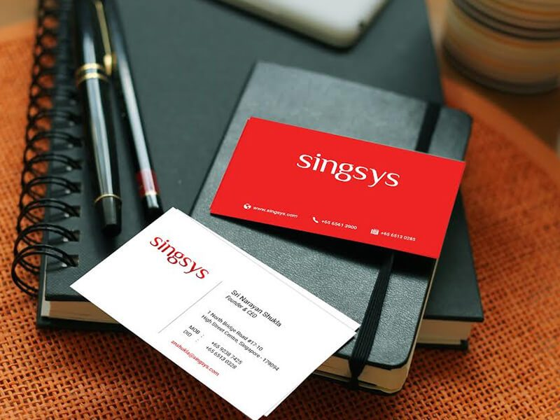 Singsys Business Card