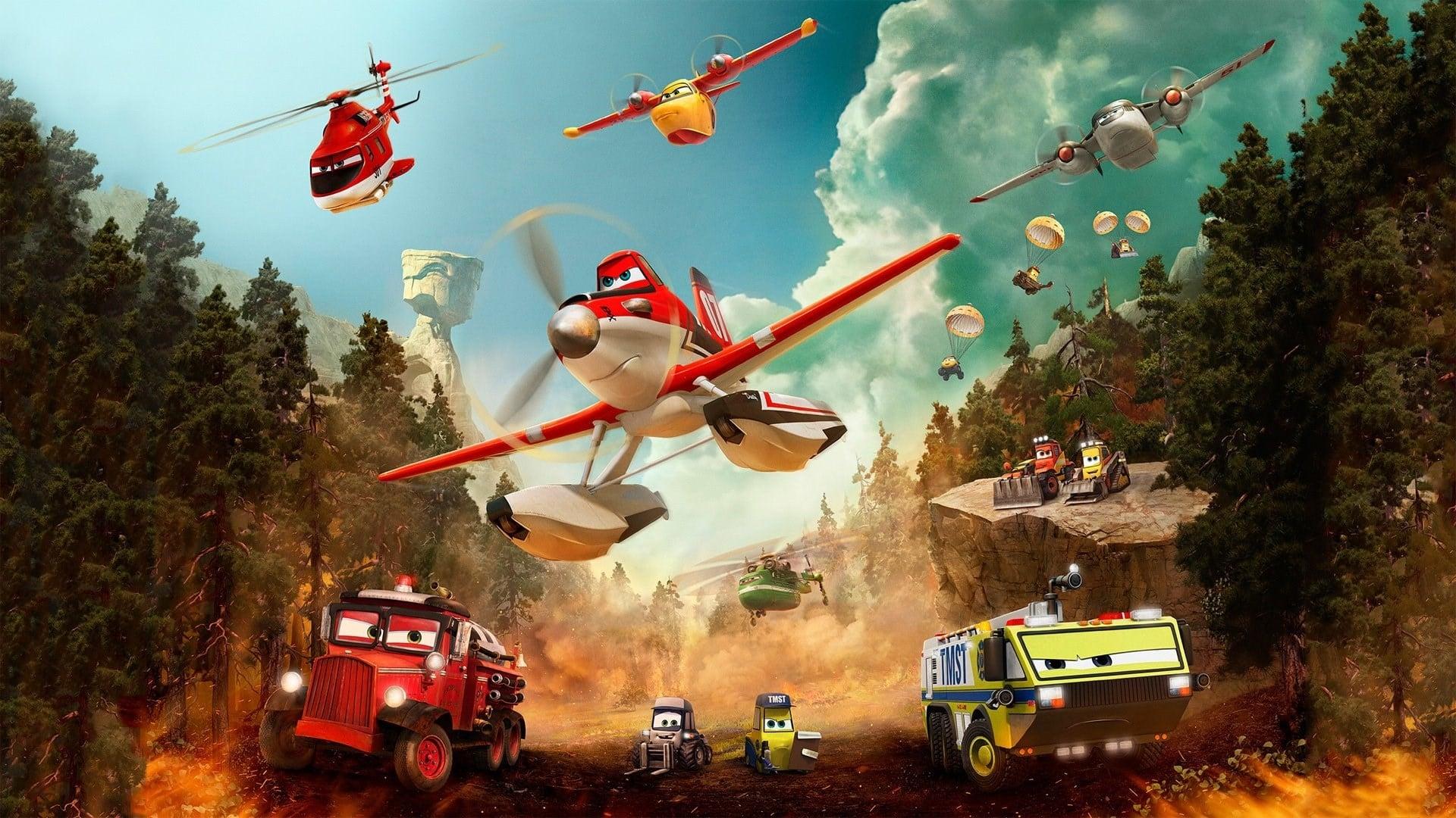 ผจญเพลิงเหินเวหา (Planes : Fire & Rescue)