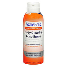 Acnefree+body+clearing+acne+spray