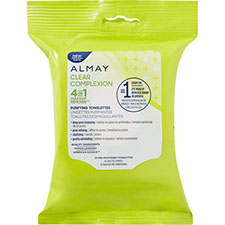 Almay+clear+complexion+makeup+remover+towelettes