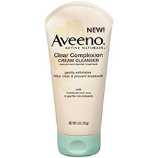 Aveeno+active+naturals+clear+complexion+cream+cleanser