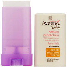Aveeno+baby+natural+protection+face+stick+with+broad+spectrum+spf+50