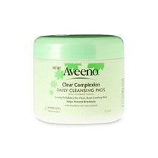 Aveeno+clear+complexion+daily+cleansing+pads