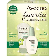Aveeno+positively+radiant+favorites