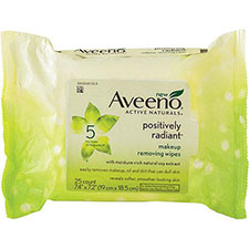 Aveeno+positively+radiant+makeup+removing+wipes
