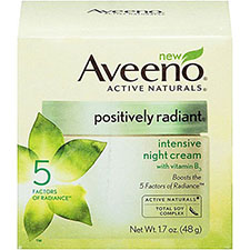 Aveeno+positively+radiant+night+cream