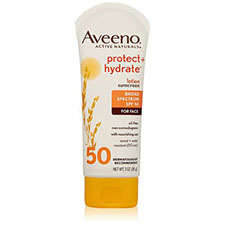 Aveeno+protect+%2b+hydrate+lotion+sunscreen+with+broad+spectrum+spf+50