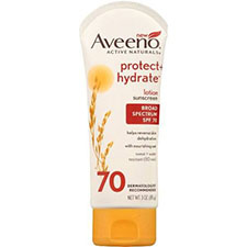 Aveeno+protect+%2b+hydrate+lotion+sunscreen+with+broad+spectrum+spf+70