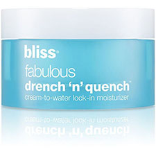 Bliss+fabulous+drench+n+quench+cream+to+water+lock in+moisturizer
