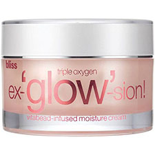 Bliss+triple+oxygen+ex %27glow%27 sion+vitabead infused+moisture+cream