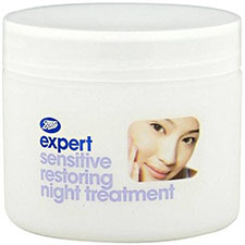 Boots+expert+sensitive+restoring+night+treatment