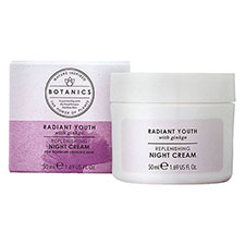 Botanics+radiant+youth+night+cream