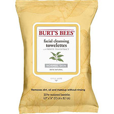 Burt%27s+bees+facial+cleansing+towelettes+white+tea+extract