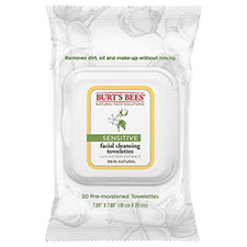 Burt%27s+bees+sensitive+facial+cleansing+towelettes+with+cotton+extract