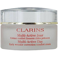 Clarins+multi active+day+early+wrinkle+correction+comfort+cream%2c+dry+skin