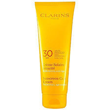 Clarins+sunscreen+care+cream+spf+30%2c+high+protection