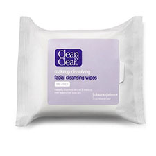 Clean+%26+clear+makeup+dissolving+facial+cleansing+wipes%2c+oil free