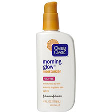 Clean+%26+clear+morning+glow+moisturizer+spf+15%2c+oil free