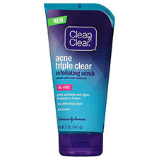 Clean+%26+clear+triple+clear+exfoliating+scrub