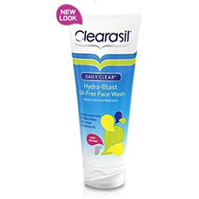 Clearasil+dailyclear+oil free+daily+face+wash