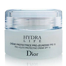 Dior+hydra+life+pro youth+protective+creme+spf+15