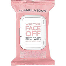 Formula+10.0.6+wipe+your+face+off+make up+removing+facial+wipes