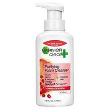 Garnier+nutritioniste+clean+%2b+purifying+foam+cleanser