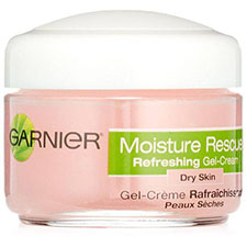 Garnier+nutritioniste+moisture+rescue+refreshing+gel cream+dry+skin