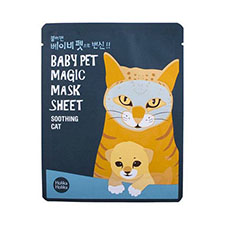 Holika+holika+baby+magic+mask+sheet+ +soothing+cat